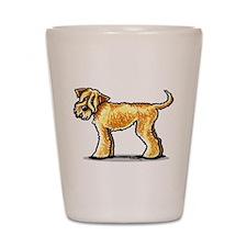 Soft Coated Wheaten Terrier Shot Glass