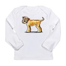 Soft Coated Wheaten Terrier Long Sleeve Infant T-S