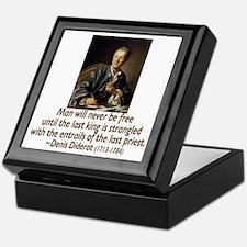 No Kings, No Priests Keepsake Box