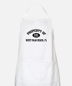 Property of West Palm Beach BBQ Apron