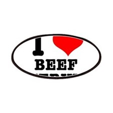 I Heart (Love) Beef Jerky Patches
