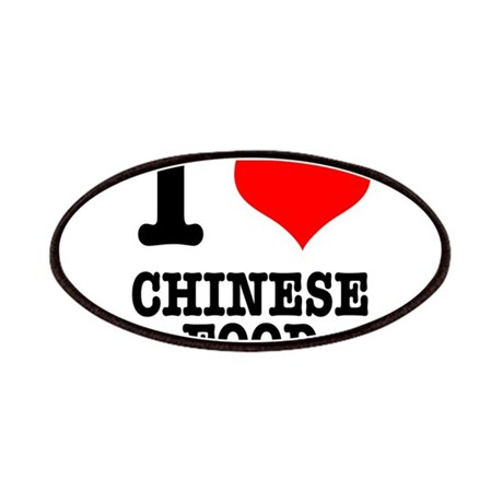 I Heart (Love) Chinese Food Patches