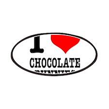 I Heart (Love) Chocolate Bunn Patches