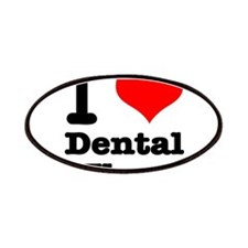 I Heart (Love) Dental Floss Patches