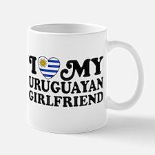 I Love My Uruguayan Girlfriend Mug