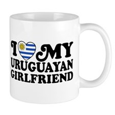 I Love My Uruguayan Girlfriend Mug
