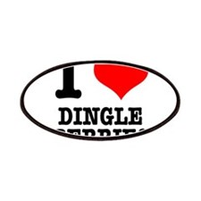 I Heart (Love) Dingleberries Patches