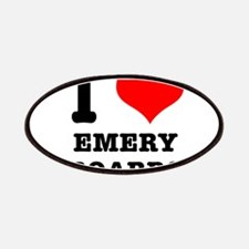 I Heart (Love) Emery Boards Patches