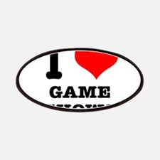I Heart (Love) Game Shows Patches