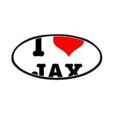 I Heart (Love) Jax Patches