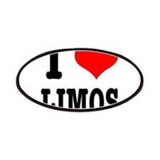 I Heart (Love) Limos Patches