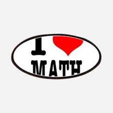 I Heart (Love) Math Patches