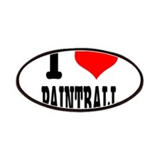 I Heart (Love) Paintball Patches