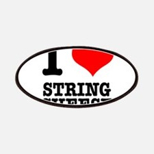I Heart (Love) String Cheese Patches