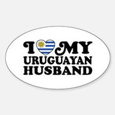 I Love My Uruguayan Husband Decal