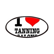 I Heart (Love) Tanning Salons Patches