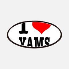 I Heart (Love) Yams Patches