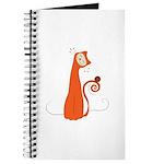 Cheerful Cat Journal