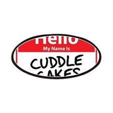 Hello My Name is Cuddle Cakes Patches