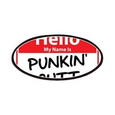 Hello My Name is Punkin' (Pum Patches