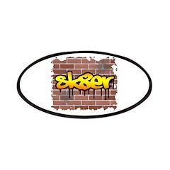 Graffiti Style Sk8er Design Patches