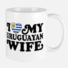 I Love My Uruguayan Wife Mug
