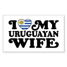 I Love My Uruguayan Wife Decal