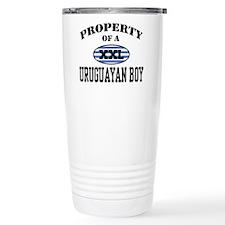 Property of a Uruguayan Boy Travel Mug