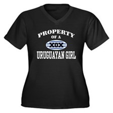 Property of a Uruguayan Girl Women's Plus Size V-N