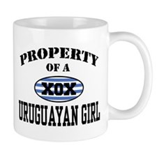 Property of a Uruguayan Girl Mug