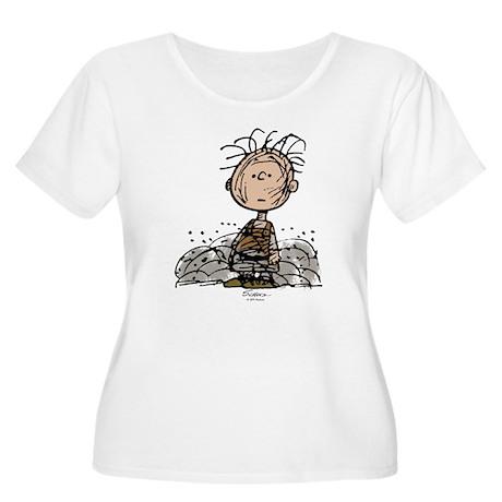 Pigpen Women's Plus Size Scoop Neck T-Shirt