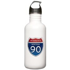 Interstate 90 - Montana Water Bottle