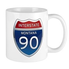 Interstate 90 - Montana Mug