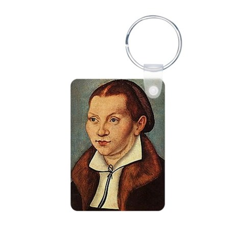 Katie Luther Aluminum Photo Keychain