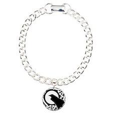 Celtic Raven Moon Bracelet