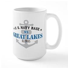 US Navy Great Lakes Base Mug