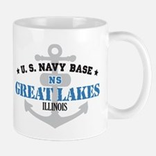 US Navy Great Lakes Base Small Small Mug