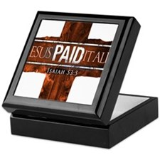 Jesus Paid In Full Keepsake Box