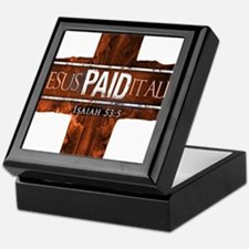 Jesus Paid In Full Keepsake Box