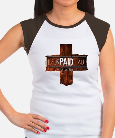 Jesus Paid In Full Women's Cap Sleeve T-Shirt