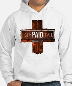 Jesus Paid In Full Jumper Hoody