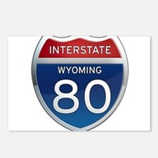 Interstate 80 - Wyoming Postcards (Package of 8)