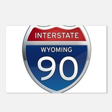Interstate 90 - Wyoming Postcards (Package of 8)
