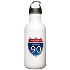 Interstate 90 - Wyoming Water Bottle