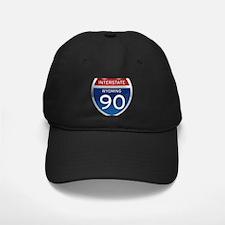 Interstate 90 - Wyoming Baseball Hat