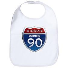 Interstate 90 - Wyoming Bib