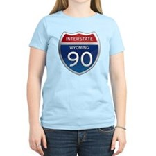 Interstate 90 - Wyoming T-Shirt