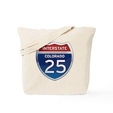 Interstate 25 - Colorado Tote Bag
