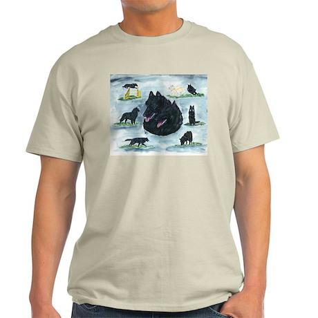 Versatile Belgian Sheepdog Light T-Shirt