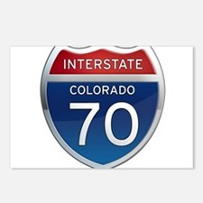 Interstate 70 - Colorado Postcards (Package of 8)